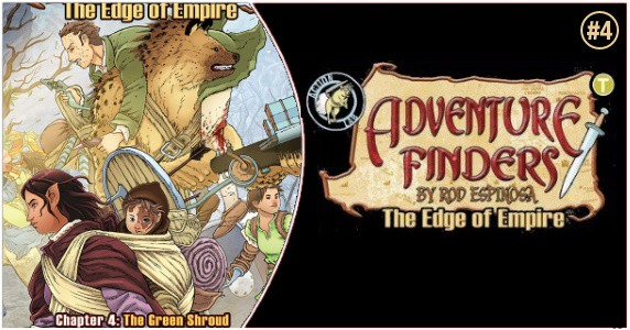 Adventure Finders The Edge of Empire #4 preview feature