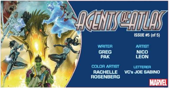 Preview Marvel Comics 12 18 Release Agents Of Atlas 5