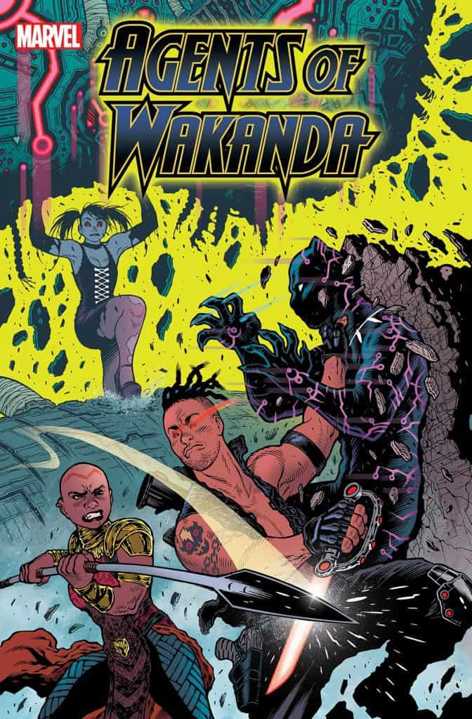 BLACK PANTHER AND AGENTS OF WAKANDA #5