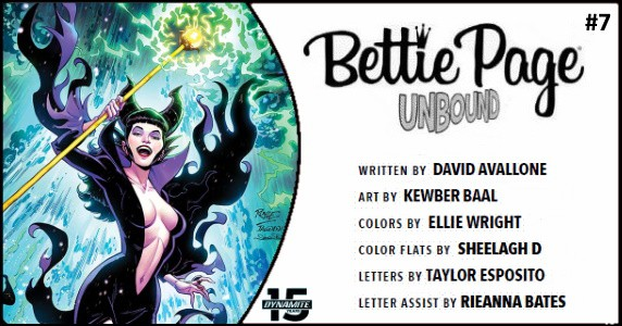 Bettie Page Unbound #7 preview feature