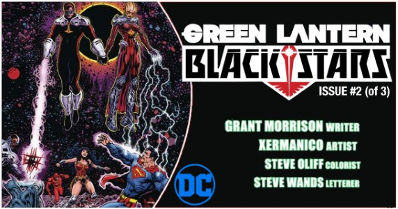 GREEN LANTERN BLACKSTARS #2 preview feature