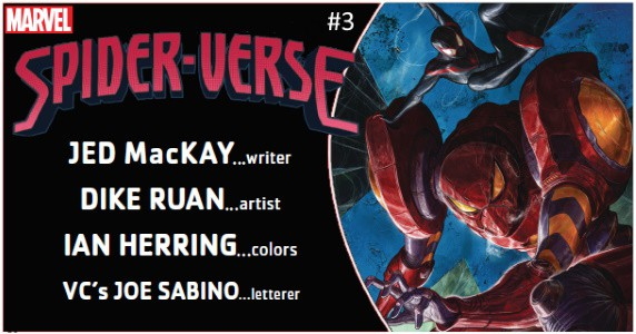 Spider-Verse #3 preview feature