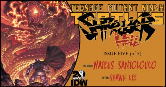 TMNT Shredder in Hell #5 preview feature