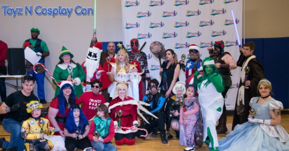 Toyz N Cosplay Con feature