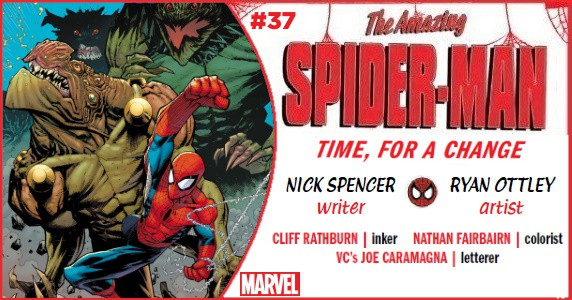 Amazing Spider-Man #37 preview feature