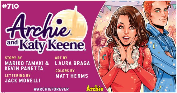Archie #710 preview feature