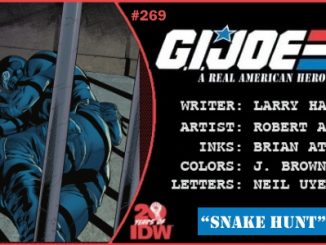 G.I. Joe A Real American Hero #269