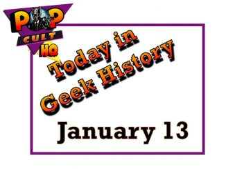 Today in Geek History - January 13