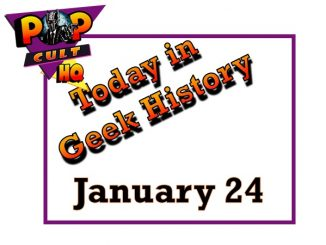 Today in Geek History - January 24