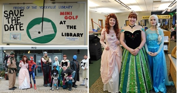 Yorkville Public Library 6th Annual Mini Golf FUN Raiser