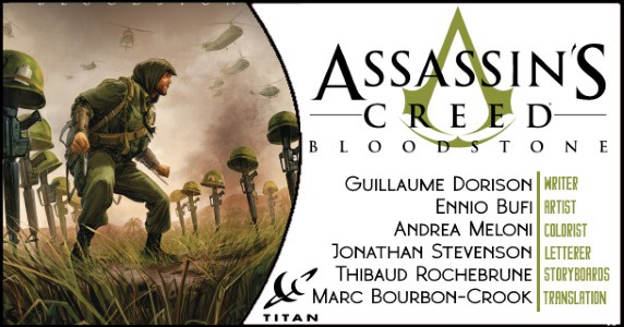 Preview Titan Comics 2 19 Release Assassin S Creed Bloodstone