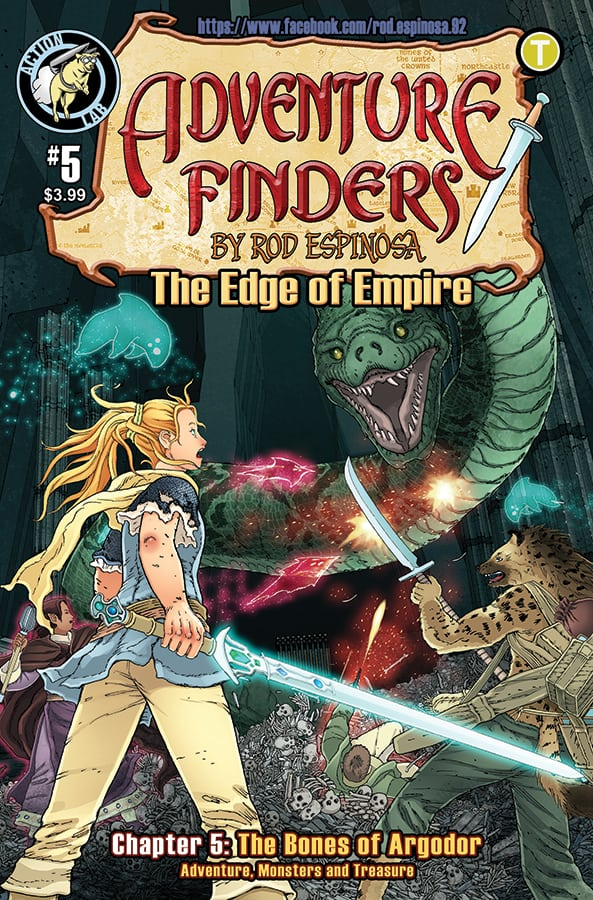 Adventure Finders The Edge of Empire #5 Cover
