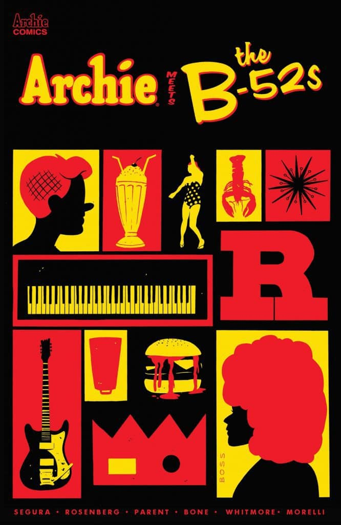 ARCHIE MEETS THE B-52s #1 - Variant Cover by Tyler Boss