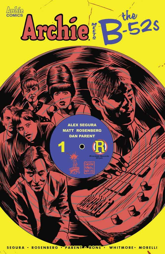 ARCHIE MEETS THE B-52s #1 - Variant Cover by Francesco Francavilla