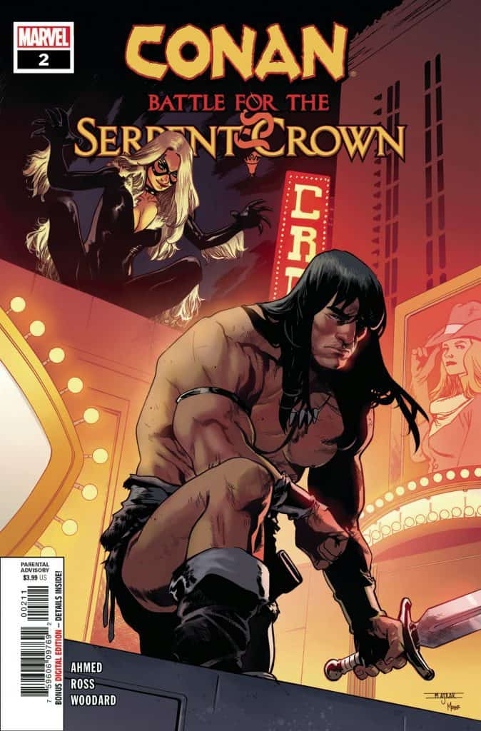 CONAN: Battle for the Serpent Crown #2 - Cover A