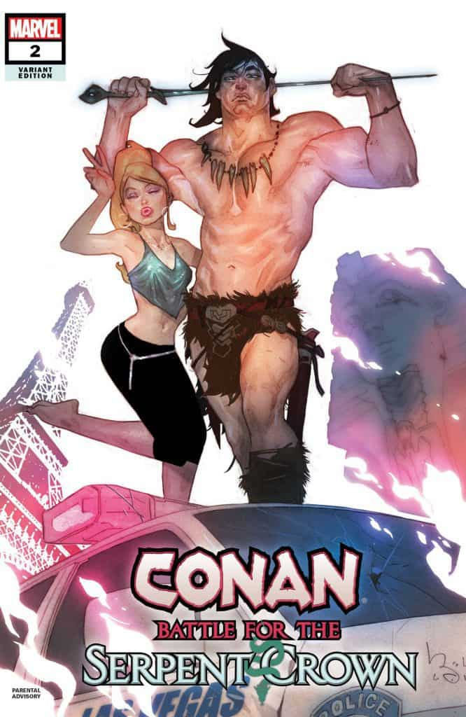 CONAN: Battle for the Serpent Crown #2 - Cover B