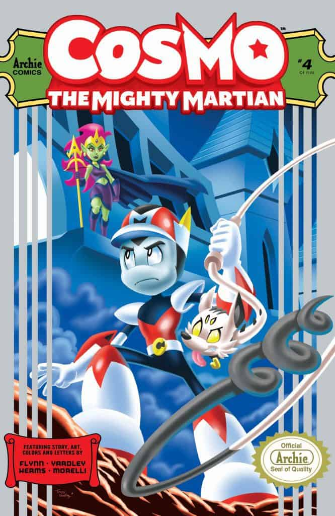 COSMO THE MIGHTY MARTIAN #4 - Main Cover by Tracy Yardley