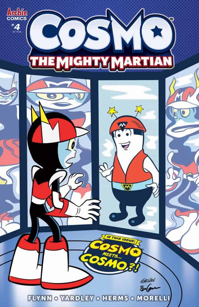 COSMO THE MIGHTY MARTIAN #4 - Variant Cover by Bill Galvan
