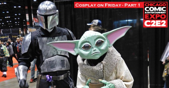 Cosplay on Friday at C2E2 - Pt. 1