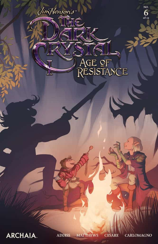 JIM HENSON'S THE DARK CRYSTAL: AGE OF RESISTANCE #6 - Main Cover