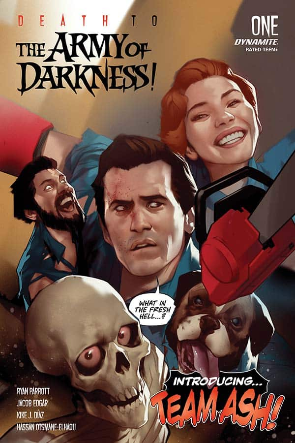 DEATH TO THE ARMY OF DARKNESS #1 - Cover A