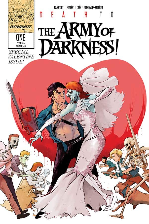 DEATH TO THE ARMY OF DARKNESS #1 - Cover D