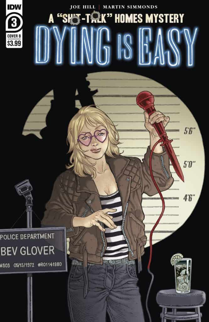 Dying is Easy #3 - Cover B