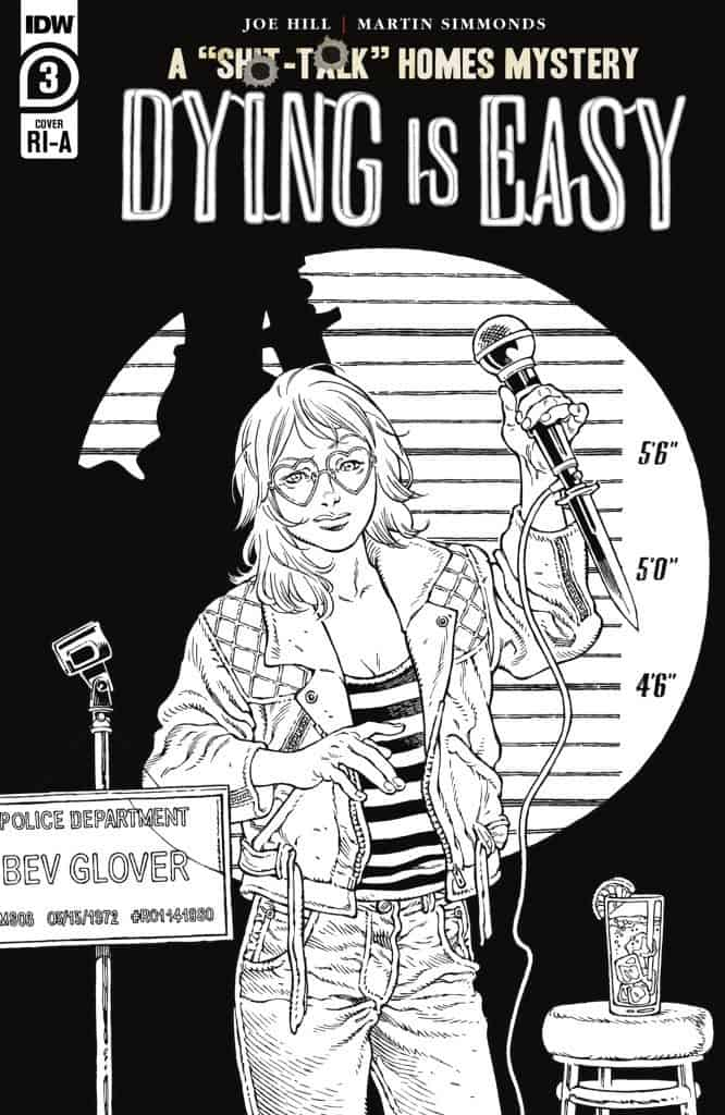 Dying is Easy #3 - Retailer Incentive Cover A