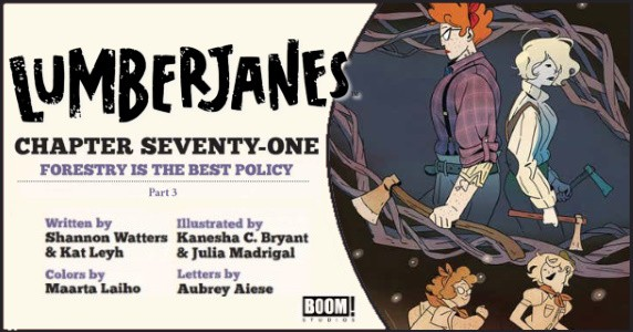 Lumberjanes #71 preview feature