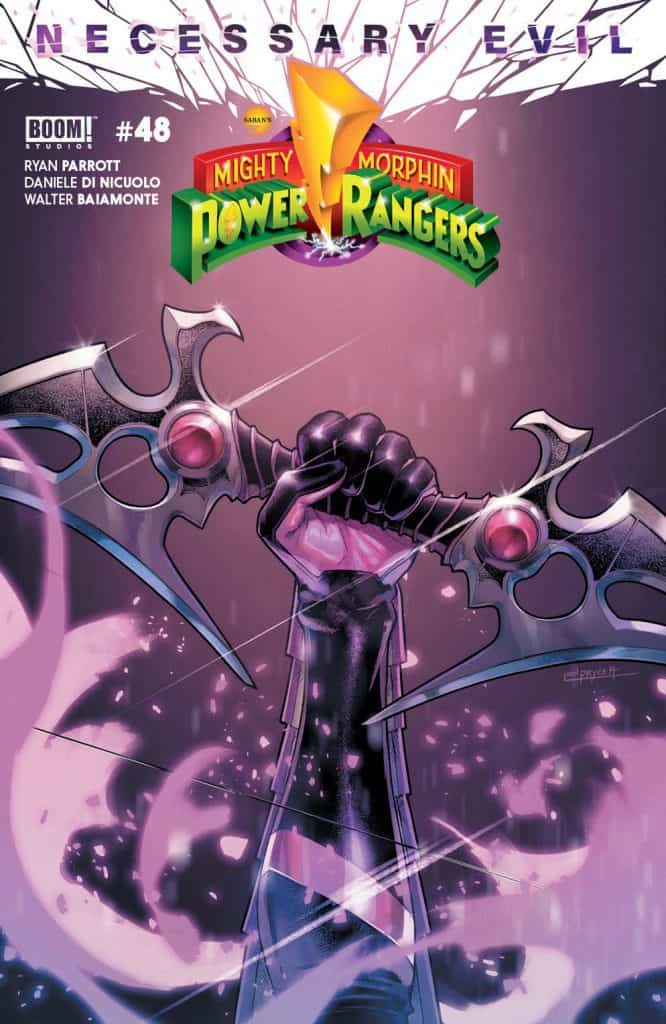 Mighty Morphin Power Rangers #48 - Main Cover