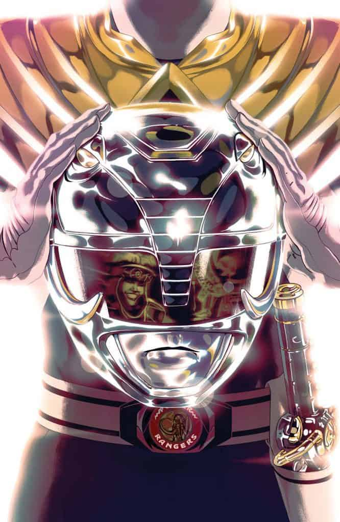 Mighty Morphin Power Rangers #48 - Foil Cover