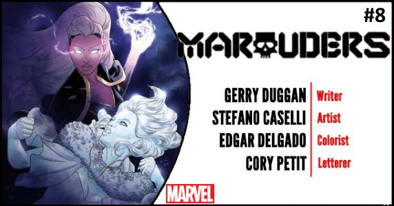 Marauders #8 preview feature