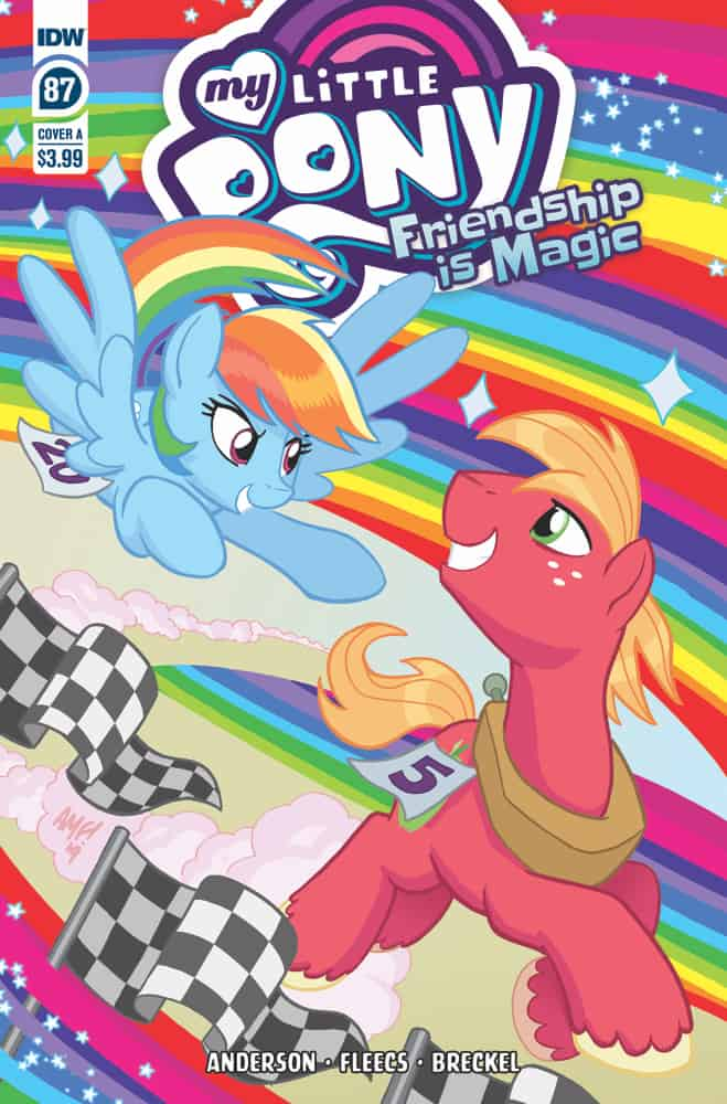 My Little Pony: Friendship is Magic #87 - Cover A