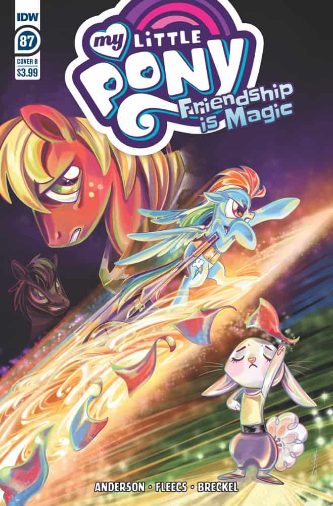 My Little Pony: Friendship is Magic #87 - Cover B