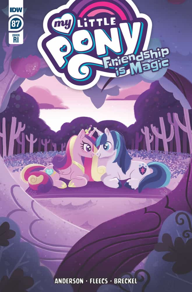 My Little Pony: Friendship is Magic #87 - Retailer Incentive Cover
