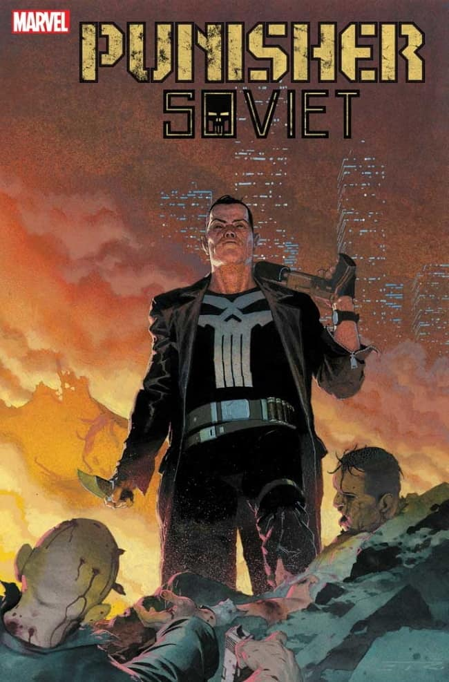 PUNISHER SOVIET #4 - Cover B