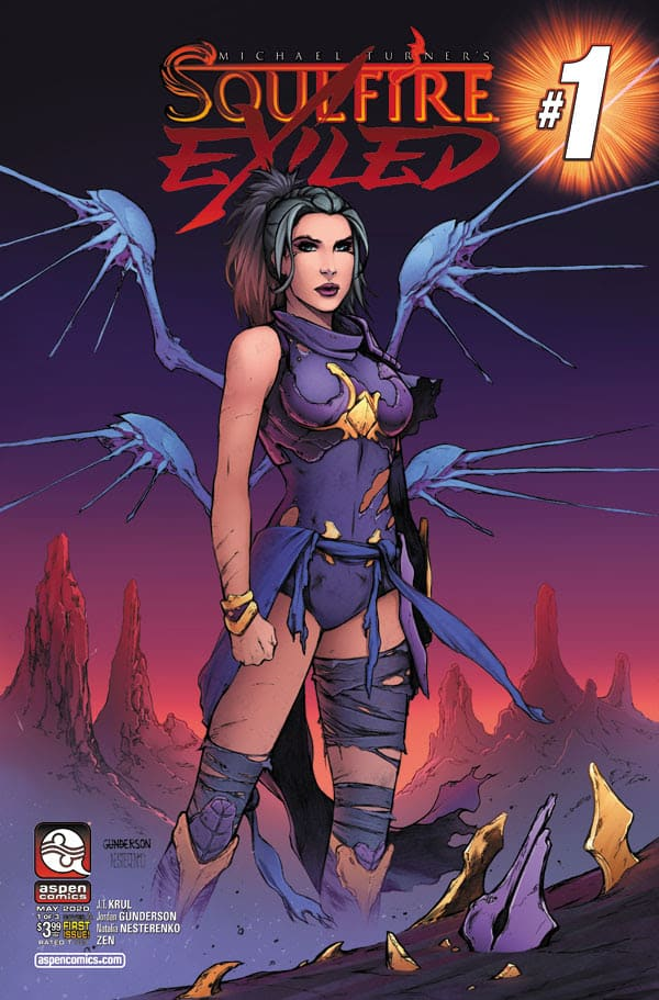 SOULFIRE: EXILED #1 - Cover A