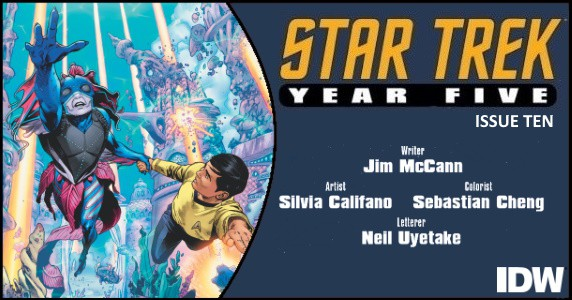 STAR TREK YEAR FIVE #10