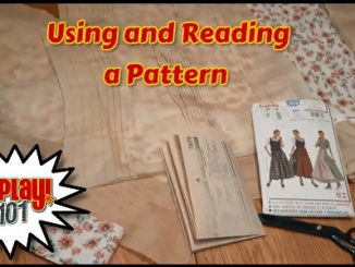 Using and reading a pattern