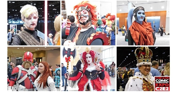 C2E2 Saturday Cosplay Part 2 feature