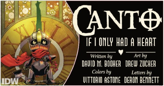 CANTO Vol. 1 TPB preview feature