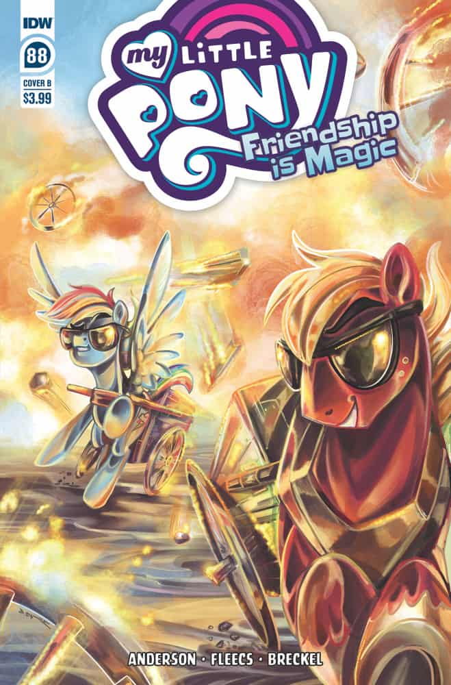 My Little Pony: Friendship is Magic #88 - Cover B