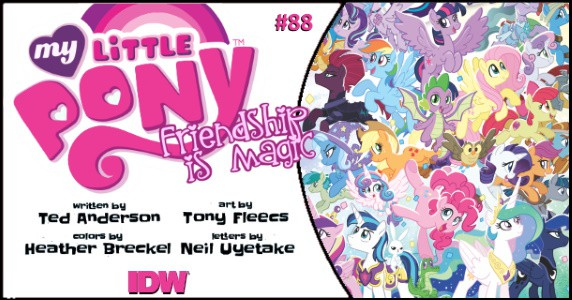 My Little Pony Friendship is Magic #88 preview feature