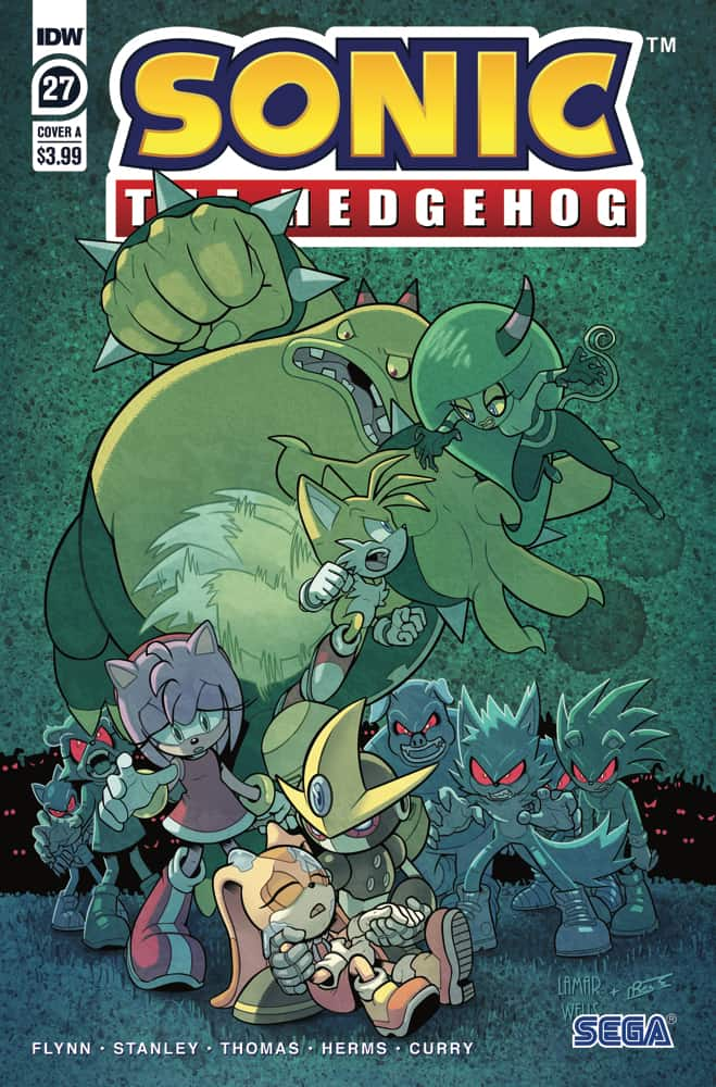SONIC THE HEDGEHOG #27 - Cover A