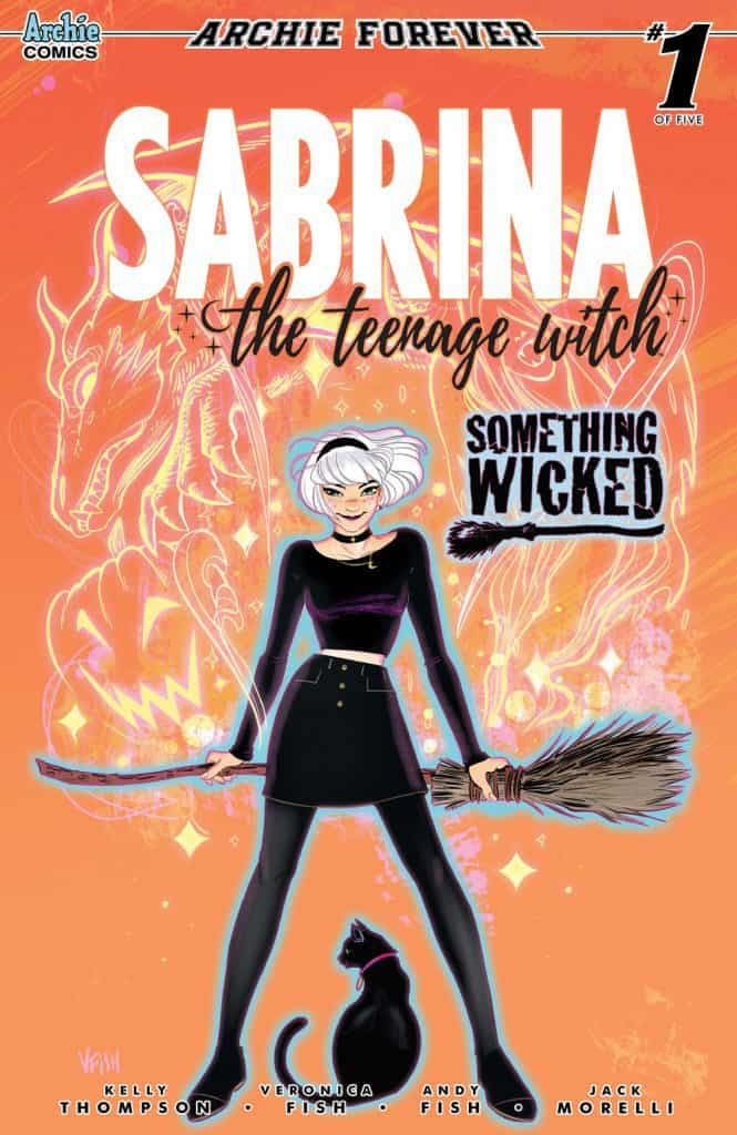 SABRINA: SOMETHING WICKED #1 - Cover A