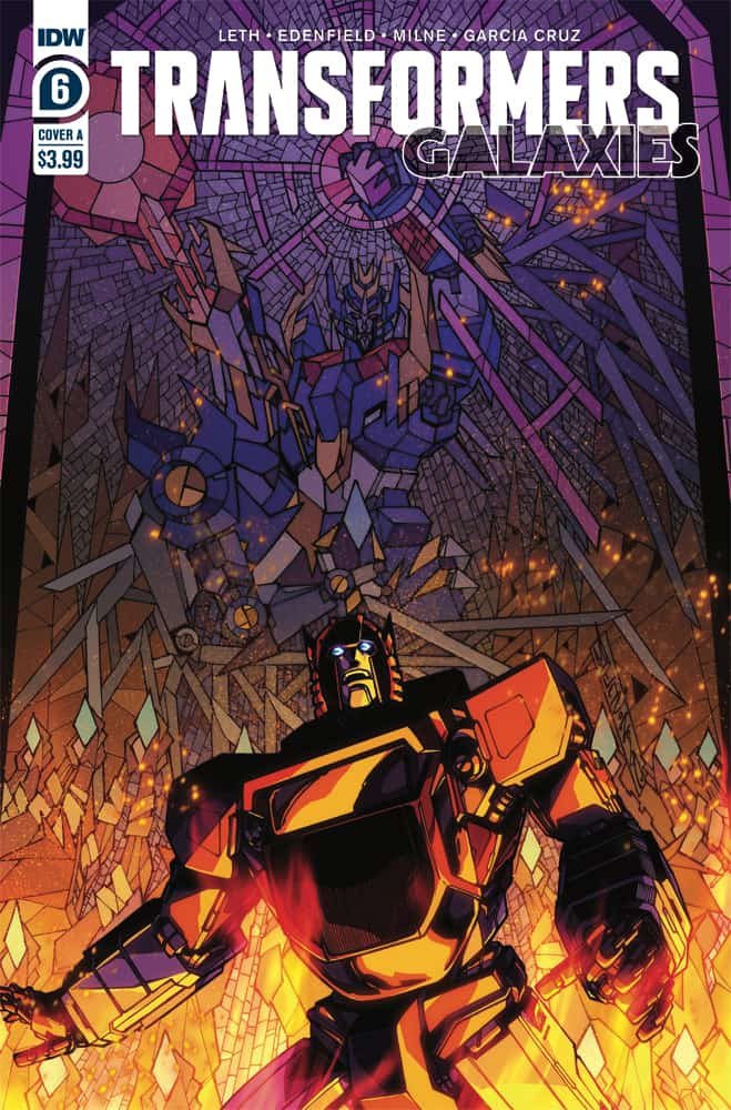 Transformers: Galaxies #6 - Cover A