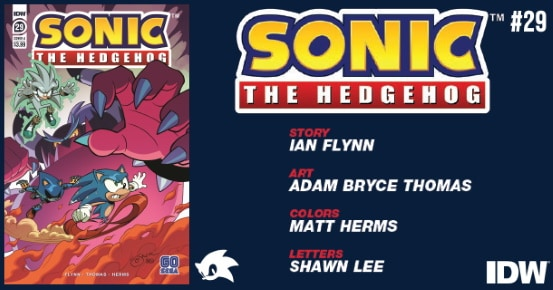 Preview Idw S 7 22 Release Sonic The Hedgehog 29 Popculthq