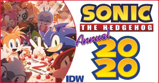 Preview Idw S 7 8 Release Sonic The Hedgehog Annual 2020 Popculthq